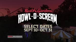 howl o scream is back for 2021
