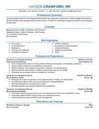 Registered Nurse Curriculum Vitae Sample Curriculum Vitae Sample Job Application Nurse Courtnews Info