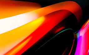 MacBook Pro 4K Wallpaper, Orange, Apple ...