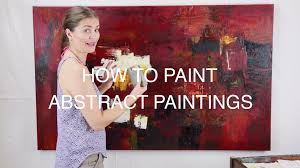 Abstract Painting How To How To Paint Abstract Paintings Nicola Newman