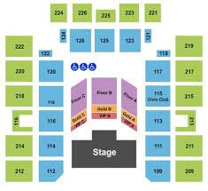 Wicomico Civic Center Tickets In Salisbury Maryland Seating