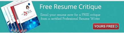 Free Resume Writing Services Extraordinary Free Resume Critique Services With Free Resume Critique Service
