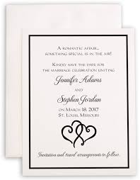 linked hearts wedding save the date cards and contemporary wedding Wedding Announcements St Louis photograph of linked hearts save the dates st louis post dispatch wedding announcements