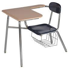 school desk. Brilliant Desk Legacy Long Arm Combo School Desk With Book Basket For I