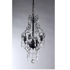warehouse of tiffany eros 4 light black chandelier
