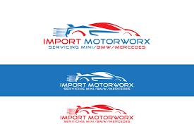 logo design by turn digital for import motorworx design 12806648