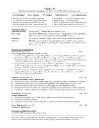 Network Support Specialist Sample Resume Computer Support Resumes Peer Specialist Sample Resume Sales Job 2