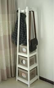 Free Standing Coat Rack With Shelf