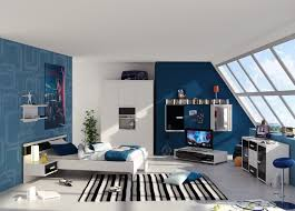 traditional blue bedroom ideas. Fascinating Blue Bedroom Ideas Inside Kids With Minimalist TV Cabinet And Floating Sideboard Traditional