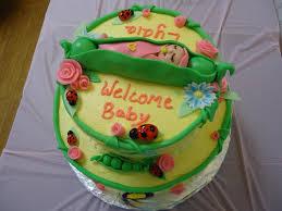 Baby Girl Cake Decorating Ideas Wedding Academy Creative Pretty