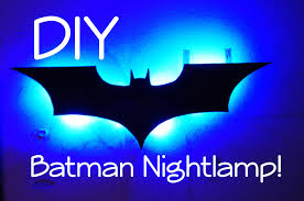 contemporary design batman wall light night lamp diy you