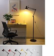 Adjustable Long Swing Arm Floor Lamp Office Led Reading Led Lamp