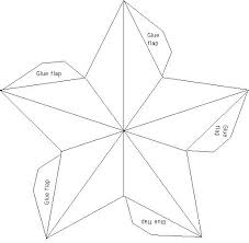 Template For A Star 7 Best Images Of Printable Templates Star Template Tree And