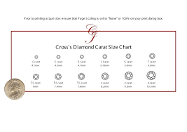 Color Chart For Diamond How To Find Your Ring Size Diamond Size Chart Template Sew