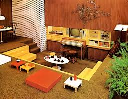 vintage 70s furniture. Authentic 70s Living Room Furniture Retro With Lighting Vintage