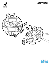 Star Wars Angry Birds Coloring Pages Angry Birds Star Wars ...