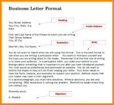 Business Letter Format 12 Free Word Pdf Documents Download ...