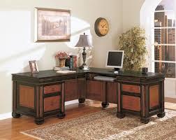 Home office cool desks Rustic Best Brownblack Wood Computer Desk With Storage Shaped Desks For Home Office Decor Ruflirtinfo Office Interesting Shaped Desks For Home Office For Your Home
