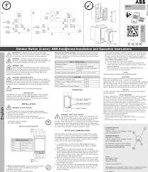 fhiwd1us abb at home in wall devices user manual manual abb page 1 of fhiwd1us abb at home in wall devices user manual manual
