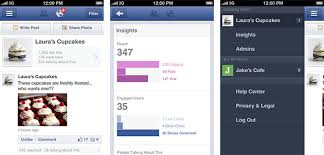 facebook pages manager app debuts for ios