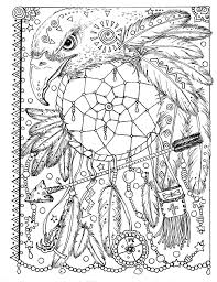 Small Picture Butterfly Dreamcatcher Coloring Page Instant Download Digital File