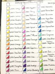 Prismacolor Pencil Chart Pdf Arteza Expert Colored Pencil Chart Page 1 Done On 60lbs