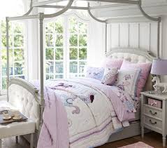 Pottery Barn Kids Bedroom Furniture Blythe Tufted Canopy Bed Pottery Barn Kids