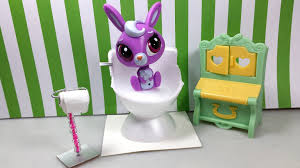 Dog Bathroom Accessories Easy Diy Custom Lps Doll Accessories How To Make A Tiny Toilet