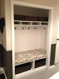 closet bench coat diy seat plans ideas closet bench closetmaid seat height