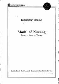 Model Of Nursing