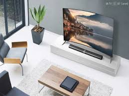 samsung curved tv in living room. xiaomi mi tv 3s with 65 inch curved 4k display launched samsung tv in living room a