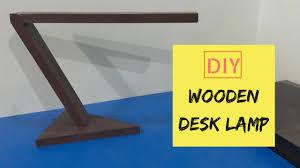 Wooden Desk Lamp David Show
