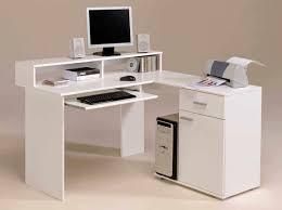 nice white l shaped desk