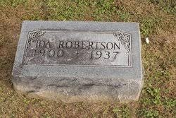 Ida Robertson (1900-1937) - Find A Grave Memorial