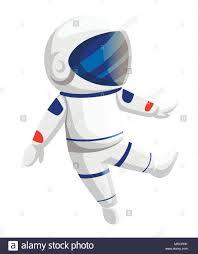 Astronaut Character Design Illustration Of Astronaut Cartoon Character Design Cute