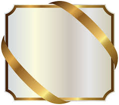 gold ribbon border white label with gold ribbon png image gallery yopriceville