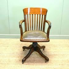 antique swivel desk chair antique leather office chair leather and wood desk chair leather and wood antique swivel