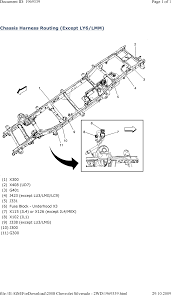 repair guides wiring systems and power management 2008 chassis harness routing except ly6 lmm 2008