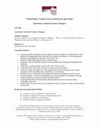 Leasing Manager Job Description Resume Exceptional Sample Resume For