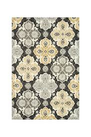 image of loloi rugs francesca rug charcoal multi