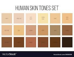 Skin Tone Color Chart Pin By Bealiza On Colours In 2019 Colors For Skin Tone