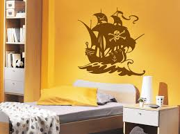 Wandtattoo Piraten Schiff