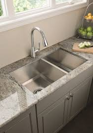 kitchen vintage kitchen sink design two square small and big