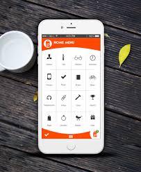 E Commerce App Ui Psd For Android Lollipop