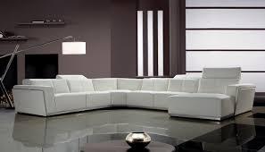 divani casa tempo  contemporary leather sectional sofa  divani