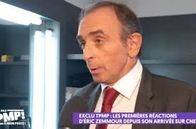 Info « les jours ». Tpmp Eric Zemmour Reagit Au Boycott Contre Son Arrivee Sur Cnews C Est Un Combat Ideologique Video