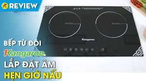 Bếp từ đôi Kangaroo: lắp đặt âm, khóa bảng điều khiển an toàn (KG498N) • Điện  máy XANH - YouTube