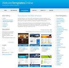 Free Online Template 30 Sites That Offer Free Website Templates And Free Flash Templates