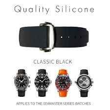 20mm 22mm 21mm Silicone Watches Bands For Omega Seamaster