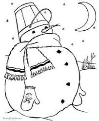 Small Picture Online Snowman Coloring Page Printables Snowman Kids colouring